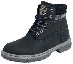 Čierne zamatové topánky
