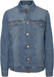 Modrá denimová bunda Ole