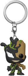 Venomized Groot Pocket POP! Kľúčenka