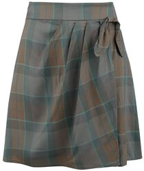Károvaná sukňa Mackenzie
