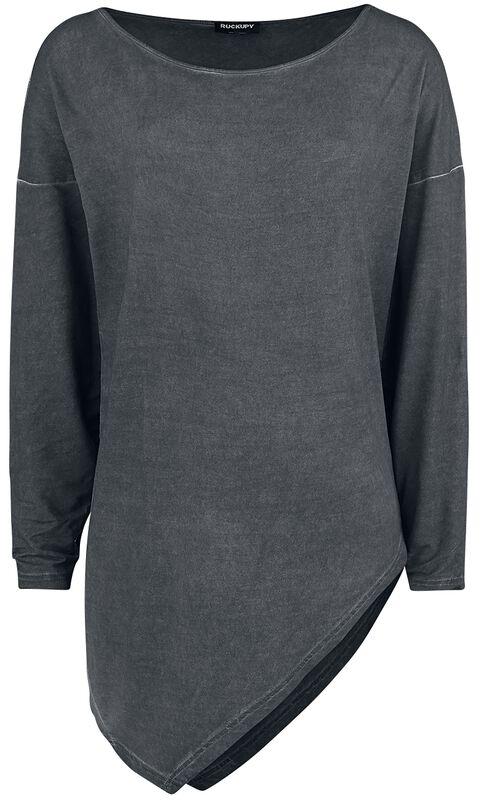 Asmyetrické tričko s dlhými rukávmi