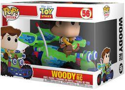 Vinylová figúrka č. 56 Woody with RC POP! Rides