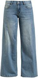 Džínsy so širokými nohavicami