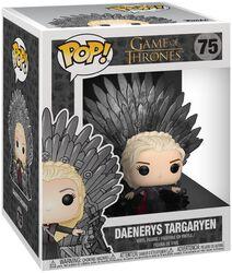 Vinylová figúrka č. 75 Daenerys Targaryen Iron Throne (POP Deluxe)