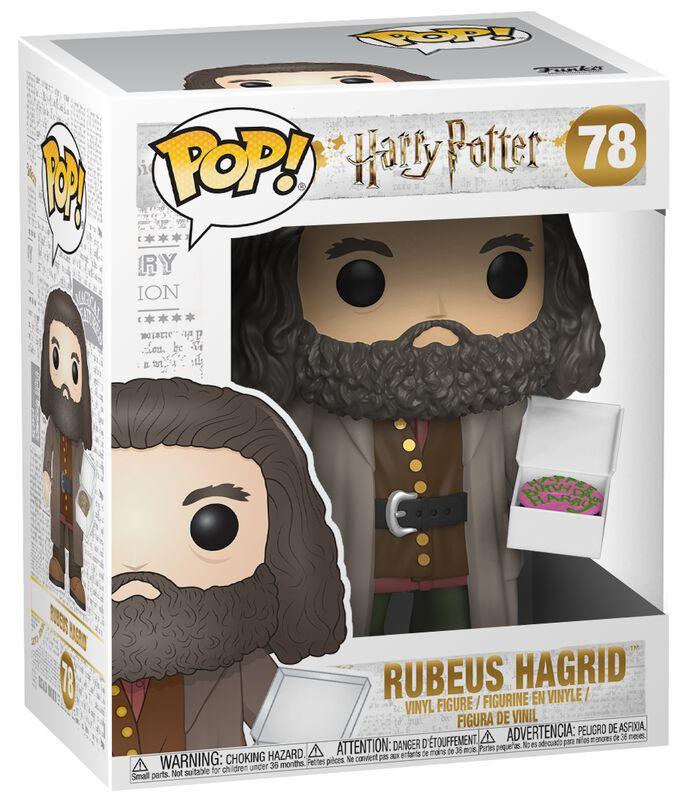 Vinylová figúrka č. 78 Rubeus Hagrid (Super Pop!)