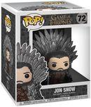 Vinylová figúrka č. 72 Jon Snow Iron Throne (POP Deluxe)