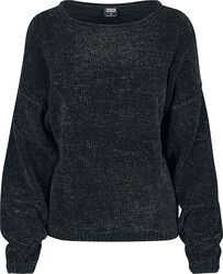 Dámský ženilkový oversized sveter