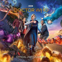 Nástenný kalendár 2020 - The 13th Doctor