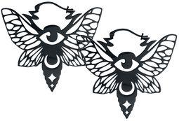 Kruhové náušnice Mystic Moth