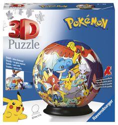 Puzzle guľa Pokémon