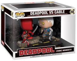 Vinylová figúrka č. 318 Deadpool vs Cable (Movie Moments)