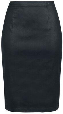 Čierna puzdrová sukňa