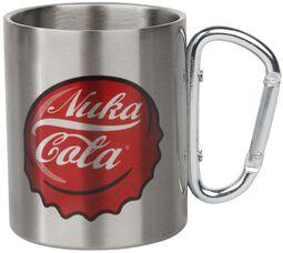 Hrnček s karabínkou Nuka Cola