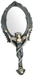 Zrkadlo s rukoväťou Black Angel