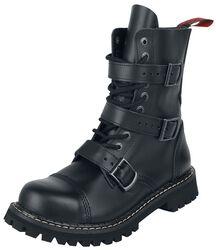 Topánky s 10-radovým šnurovaním a 3 prackami