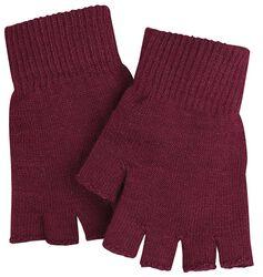 Zimné rukavice - červené