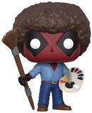 Vinylová figúrka č. 319 Deadpool as Bob Ross
