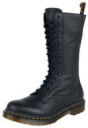 Čierne topánky 1B99 Black Virginia 14 Eye Zip Boot