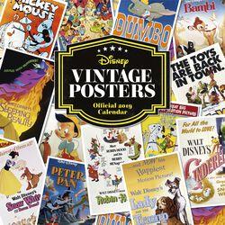 Nástenný kalendár 2019 - Vintage Posters