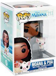 Vinylová figúrka č. 213 Moana & Pua