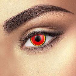 Kontaktné šošovky Red Vampire Eye