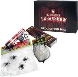 Halloween Freakshow Decoration Box 9e2ce156e0b